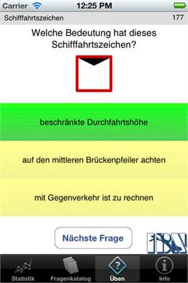 Bodensee Schifferpatent iOS iPhone Abb.1